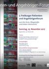 Videobericht des 7. Freiburger Patienten- und Angehörigen-Forums